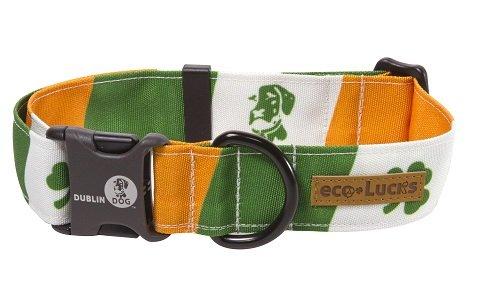 Dublin Dog Co. 06STPIPL Eco-Lucks Irish Pride Collar