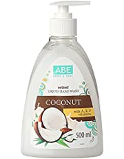 ABE Liquid Soap with Dispenser, Mango with Papaya Extract, 499 ml, Pack of 6