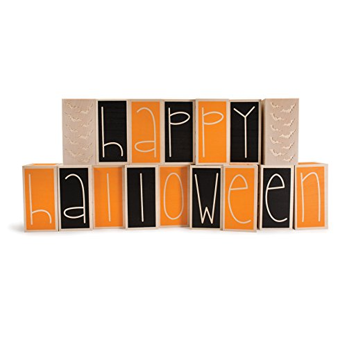 Uncle Goose Happy Halloween Letters - Made in