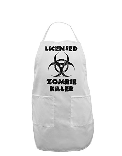 bie Killer - Biohazard Adult Apron - White - One-Size ()