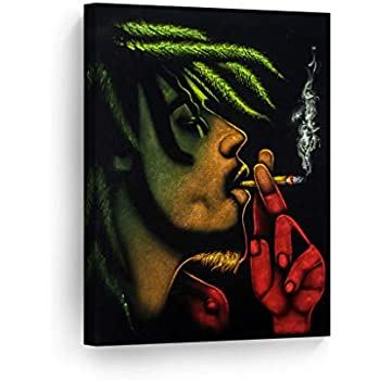 Fbhfbh HD Modern Living Room Home Decor Canvas 5 Panel Flame Basketball Printed Pictures Painting Wall Art Modular Poster Frame 12x16//24//32inch,With frame
