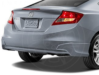 Honda Genuine Accessories 08F03-TS8-170 Cool Mist Metallic Rear Underbody Spoiler for Select Civic Models