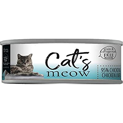 Dave's Pet Food Cat's Meow Healthy Canned Cat Food