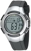 Timex Men's T5K238 1440 Sport Gray and Silver-Tone Digital Watch from Timex