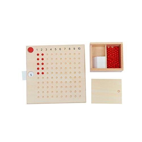 Adena Montessori materials C113 Multiplication Bead Board
