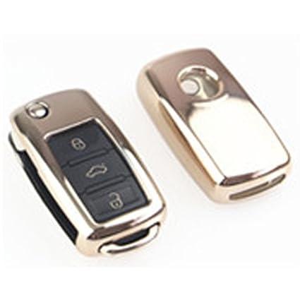 Amazon Com Soft Plastic Car Key Cover Holder Universal