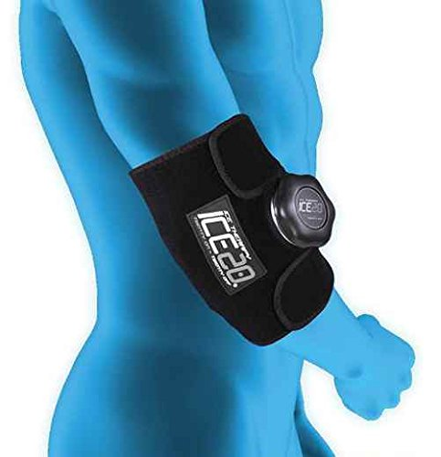Bownet Elbow Compression Wrap, Black by Bownet