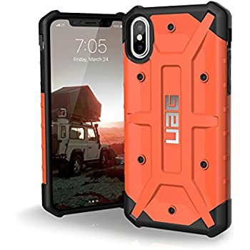 UAG iPhone X Pathfinder Feather-Light Rugged [RUST] Military Drop Tested iPhone Case