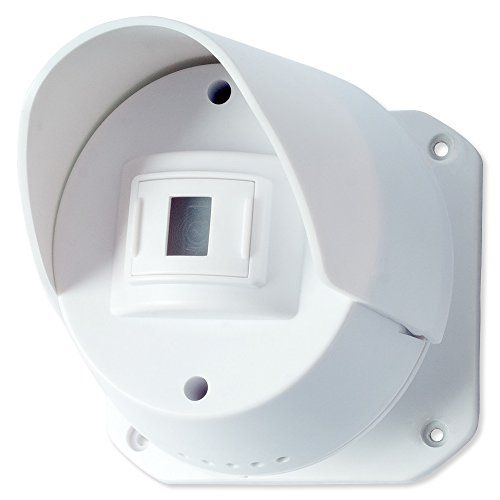 (SECO-LARM RA-4961-DSQ RF Wireless Outdoor PIR Sensor For use with the RA-4961 series RF receivers; Wirelessly monitor driveways, walkways or other areas; Up to 1,000ft (305m) transmission range)