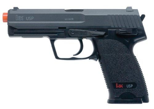 HK USP 6mm Airsoft Spring Pistol (Pistol 45 Pellet)