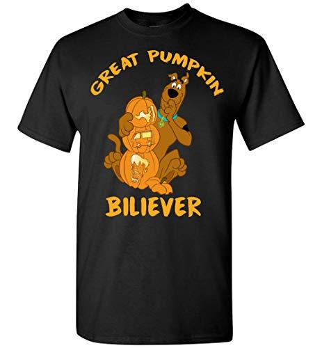 Creat Pumpkin Believer Scooby Doo Halloween Funny T-Shirt