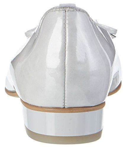 Ara Ladies Bari Closed Ballerina White (offwhite), 42 Eu (8 Uk)