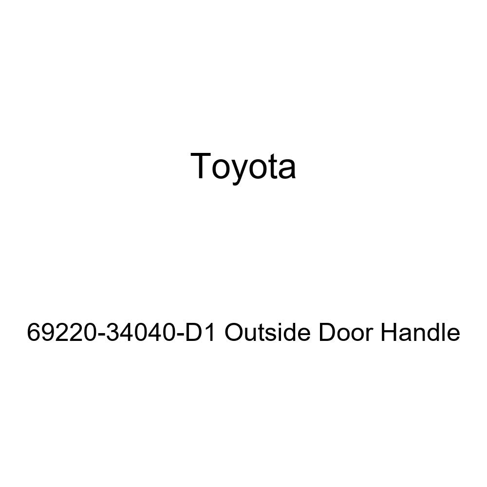 Toyota 69220-34040-D1 Outside Door Handle