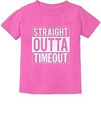 Tstars - Straight Outta Timeout Funny Toddler/Infant Kids T-Shirt