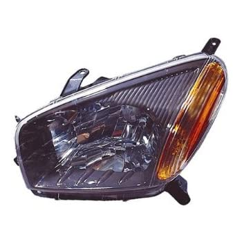 Toyota RAV4 Replacement Headlight Assembly (Black) - 1-Pair