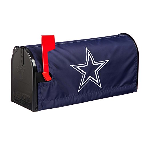 Mailbox Team Cover (NFL Dallas Cowboys Mailbox Cover, Blue)
