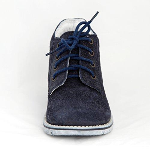 Babyschuhe Kinderschuhe Lauflernschuhe dunkelblau Wildleder Modell Emel 2580-4 handmade (24)