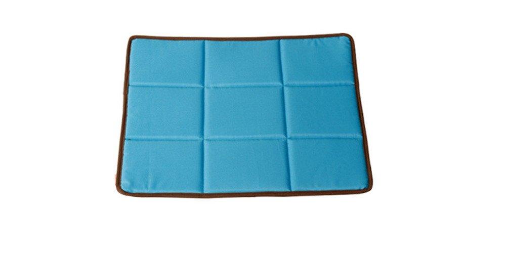 funnybao el nuevo verano perro mascota Cool Mat aislamiento térmico transpirable tamaño de la perrera Pad: Amazon.es: Productos para mascotas