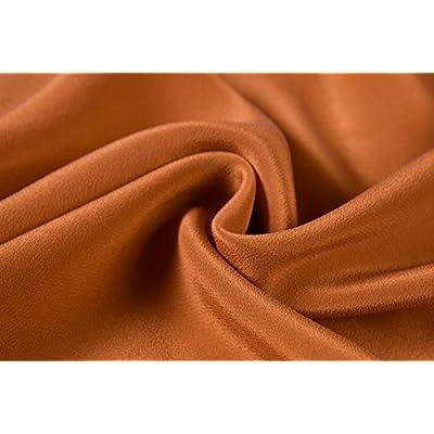 Pure silk light brown fabric  100/% Silk Crepe de Chine  fabric  Width 44 inch