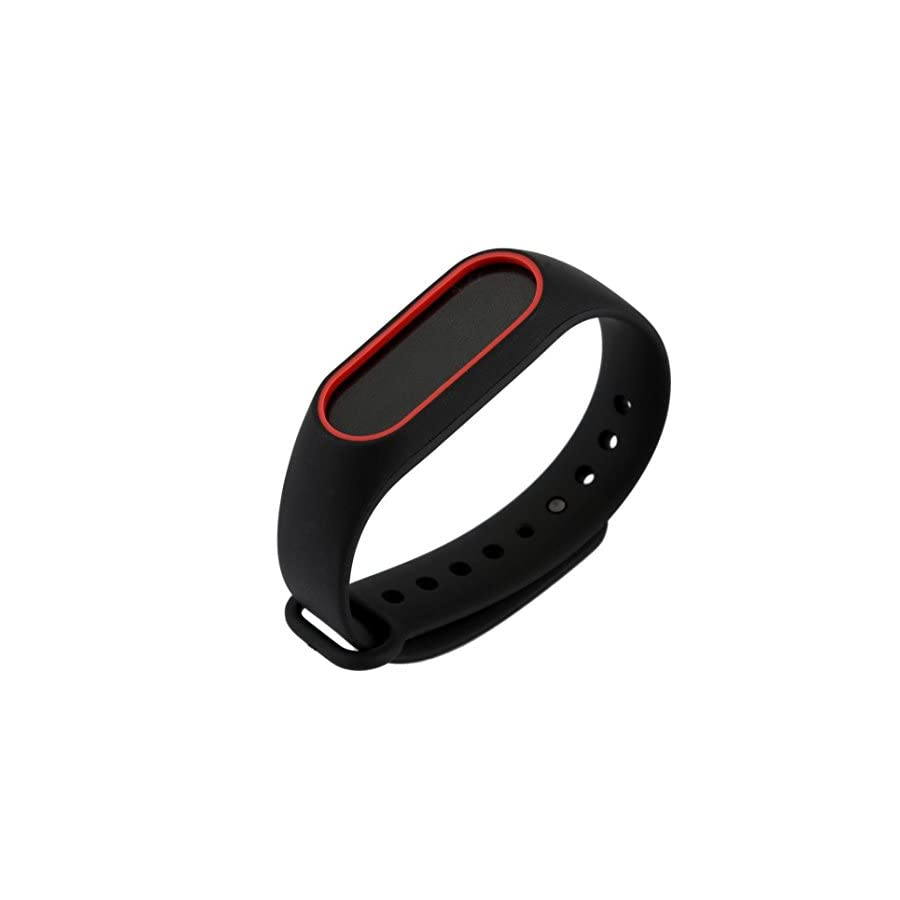 DingTool Compatible Xiaomi Mi Band 2 Bracelet, Replacement Strap Wristband Accessories Xiaomi Mi Band 2 Smart Watch