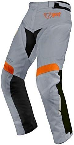 JET Motorradhosen Textilhose Wasserdicht Winddicht Mit Protektoren Weite 50 L/änge 32 Grau,DE 66 Regul/är 8XL