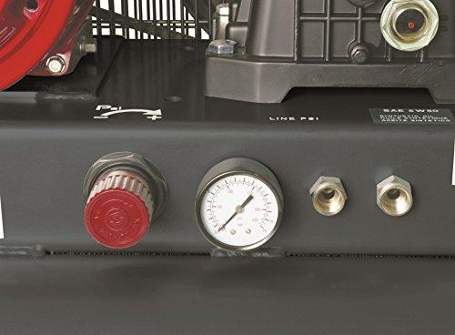Hitachi EC2510E 8 Gallon Gas Powered Wheeled Air Compressor