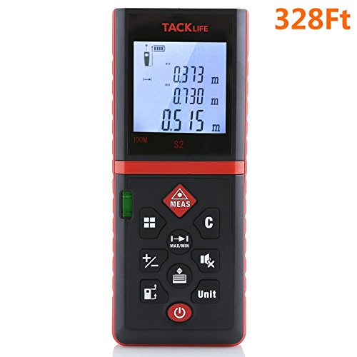 Tacklife Advanced Laser Measure 328 Ft
