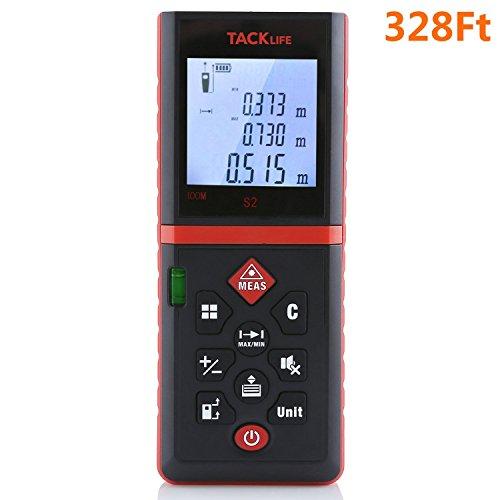Tacklife Advanced Laser Measure 328 Ft
