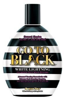 Go To Black White Lightning White Bronzing Tanning Lotion