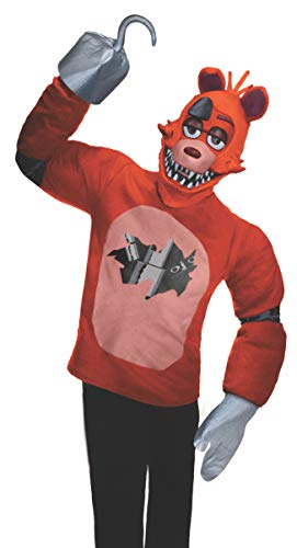 Rubie's Men's Five Nights at Freddy's Foxy Costume, As As Shown, Extra-Large]()