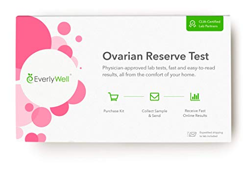 - Everlywell - At-Home Woman's Ovarian Reserve Test: Understand If Your Egg Quantity Is Adequate For Your Age (Not Available in NJ, NY, RI, MD)
