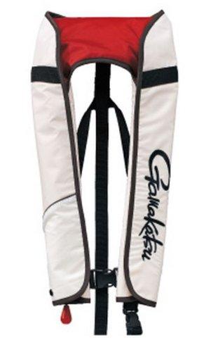 がまかつ(Gamakatsu) ライフジャケット エアベスト キッズ用 ホワイト GM-2141   B0027YWGMW