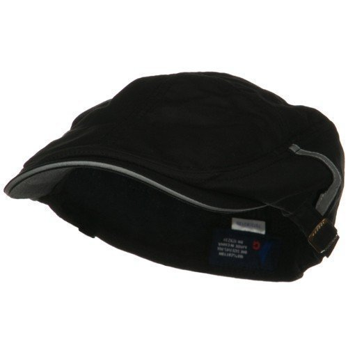 New Sandwich Bill Ivy Cap - Black one size W11S58B