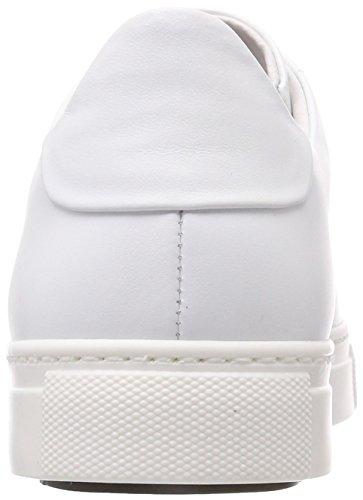 Stokton Sneakers Blanc Basses White Sneaker Gold Femme U6xUCqrwB