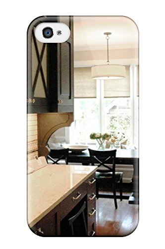 Awesome VPzWRdz1124nFrqV MaryCF Defender Tpu Hard Case Cover For Iphone 4/4s- Traditional Kitchen With Subway Tile Backsplash Amp Stone Countertop ()