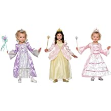 Forum Novelties Pretty Princess Dress Up Kit with Three Deluxe Dresses & Accessories Costume [Amazon Exclusive]