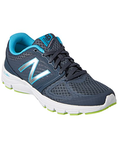 New Balance W575 Running Fitness - Zapatillas de deporte para mujer Gris/Púrpura