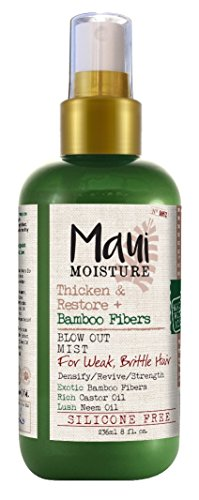 Maui Moisture Bamboo Fibers Blow Out Mist 8 Ounce (236ml) (2 - Maui Bamboo