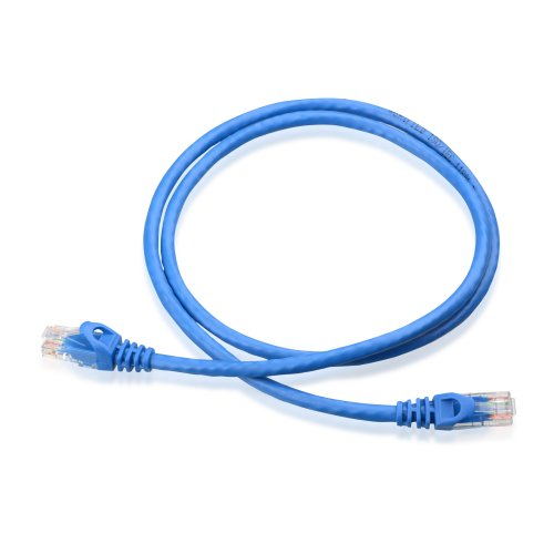 Cable Matters 5-Pack, Cat6 Snagless Ethernet Patch Cable in Blue 3 Feet