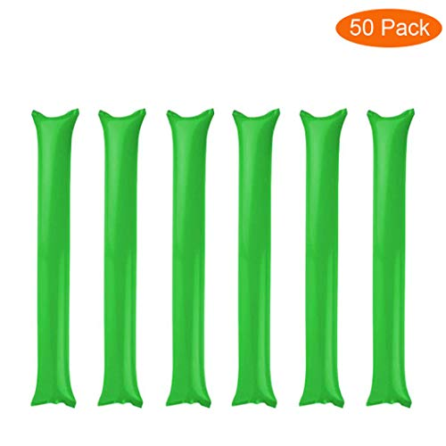 Thunder Sticks, Inflatable Stadium Noisemakers Bam Bam Cheer Sticks Blow Bar Inflatable Boom Sticks Noisemakers Stick Basketball Football Noisemakers Party Favors