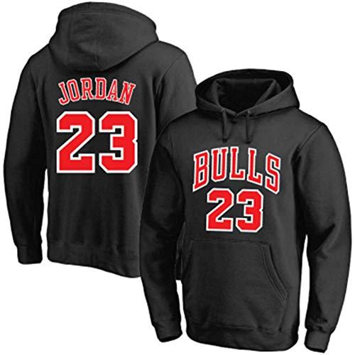 Sudadera con Capucha De Baloncesto para Hombre/Mujer Michael Jordan # 23 Chicago Bulls Sudadera Chaqueta Fina De Manga…