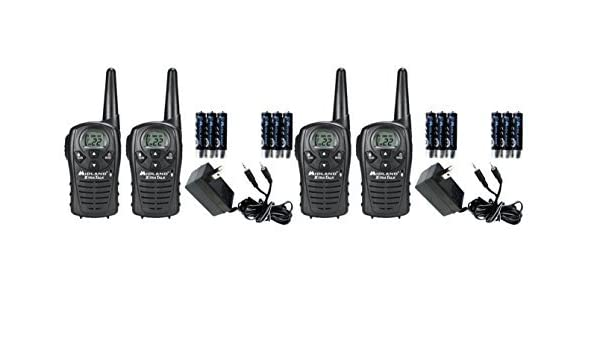 14bfa7ca398 Amazon.com  Midland LXT118VP FRS GMRS Two-Way Radios   Walkie Talkies Up to  18-Miles 22 Channels