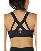 AKAMC Women's Removable Padded Sports Bras...