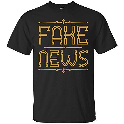 (Trump Fake News T Shirt - Political Funny Tee Shirts (Unisex)