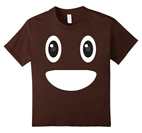 Kids Poop Emoji Halloween Costume T-Shirt 10 (10 Super Easy Last Minute Halloween Costumes)