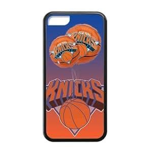 Fashionable Designed iPhone 5C TPU Case with New York Knicks logo (Laser Tech...