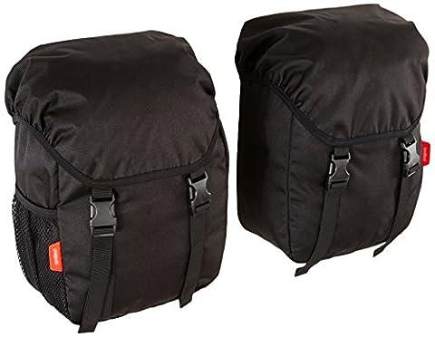 phil&teds Blazing Saddles Pannier Stroller Side Storage Bags, Black