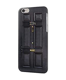 R2851 Sherlock Holmes Black Door 221B Case Cover For IPHONE 6 6S
