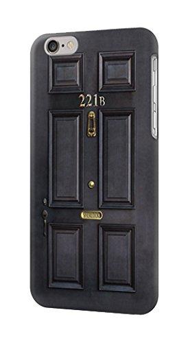 R2851 Sherlock Holmes Black Door 221B Case Cover For iPhone 6 Plus iPhone 6s Plus