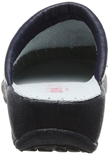 World of Clogs 'San Malo' Healthcare Clog in Navy Navy DwvQTfcUsx